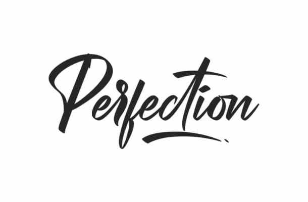 Perfection Font