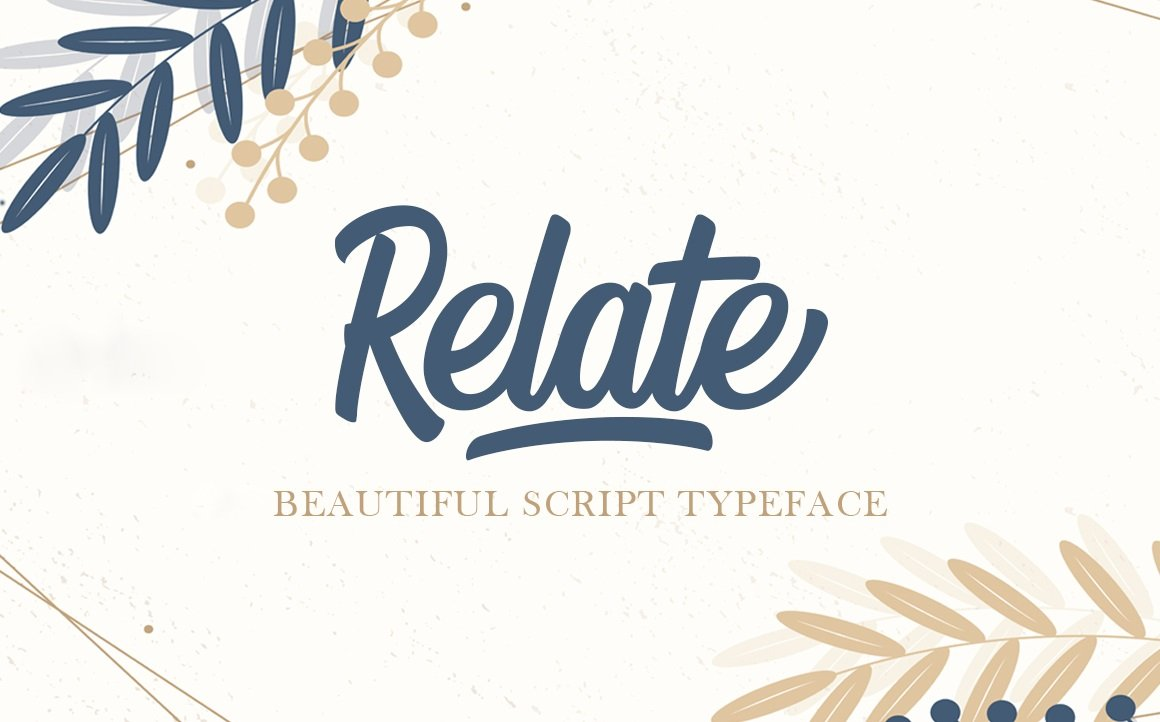 Relate-Font