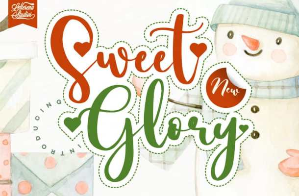 Sweet Glory Font