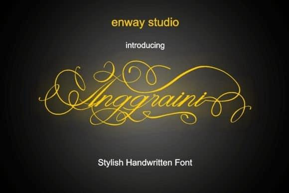 Anggraini Font