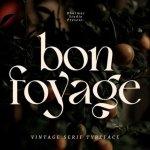 Bon Foyage Font