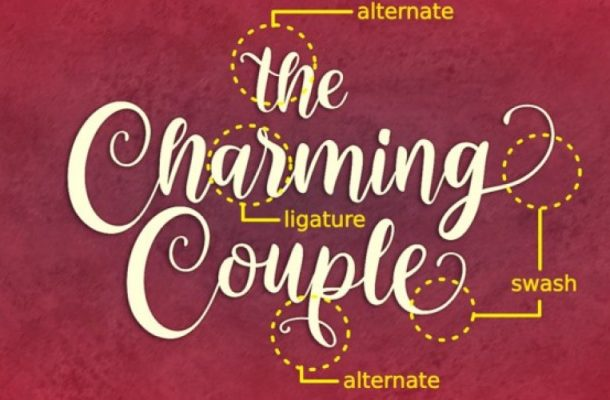 Charming Couple Font