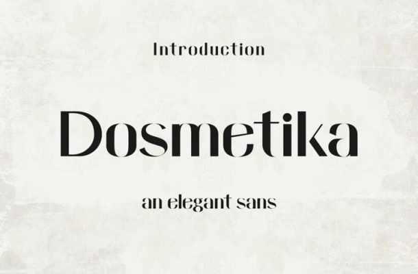 Domestika Font