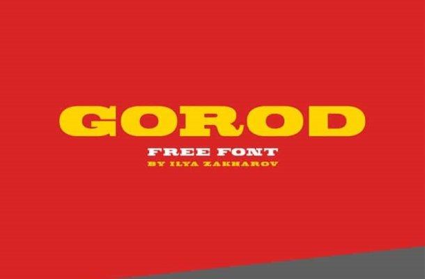 Gorod Font