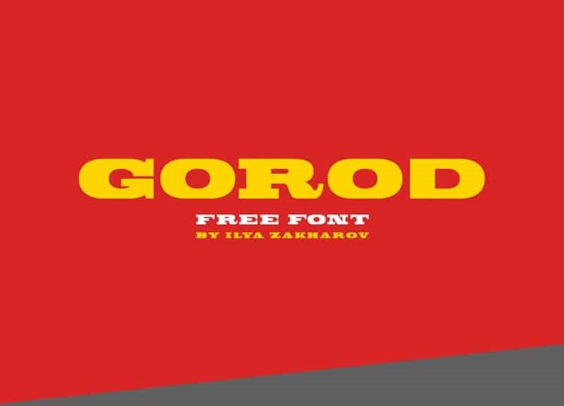 gorod-slab-serif-font