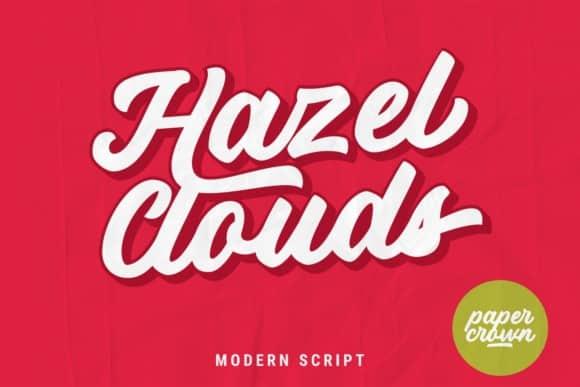 Hazel Clouds Font