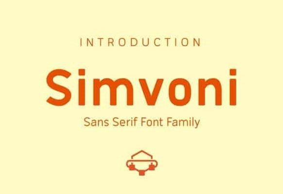 Simvoni Font