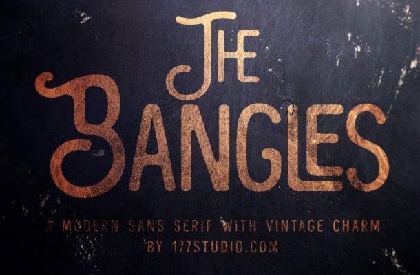 The Bangles Font