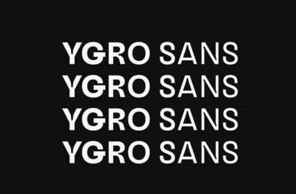 Ygro Font