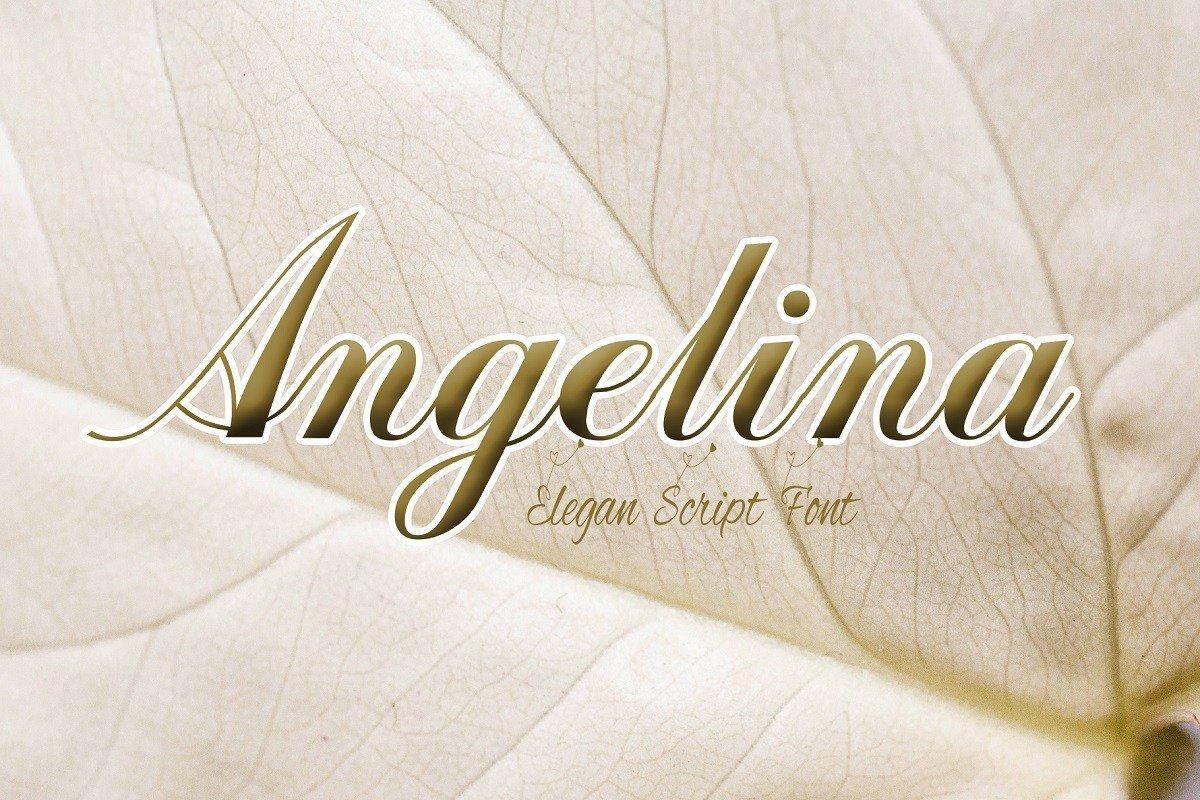 Angelina-Font
