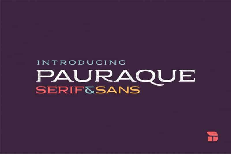 Pauraque Display Font