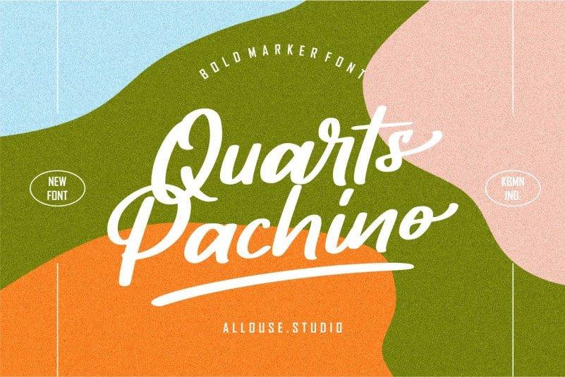 Quarts Pachino Script Font