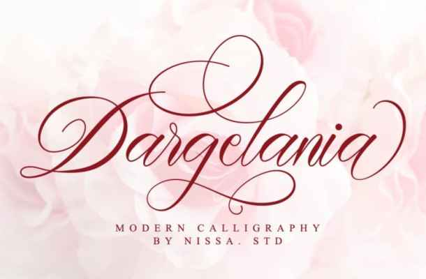 Dargelania Font