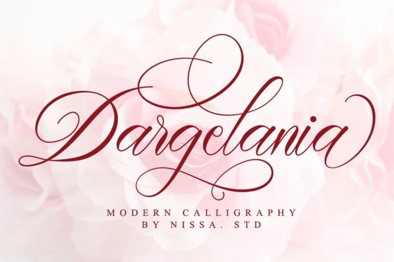 dargelania-font
