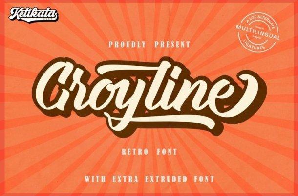 Groyline Font