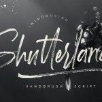 Shutterland Font