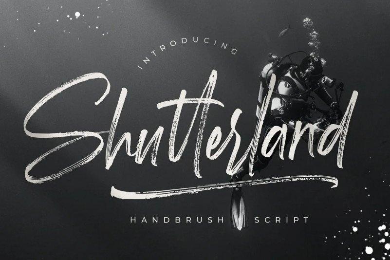 shutterland-font-4