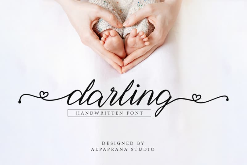 Darling – Calligraphy Font