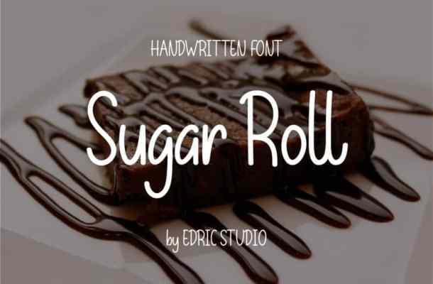 Sugar Roll Font