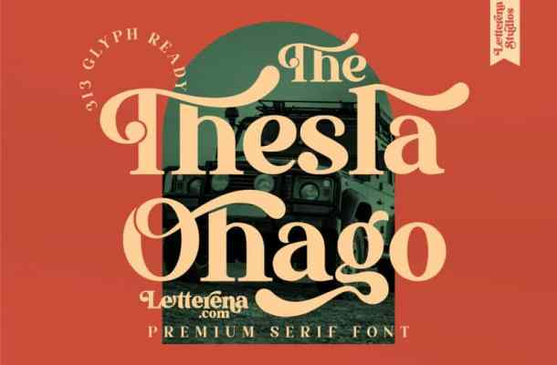 The Thesla Ohago Font