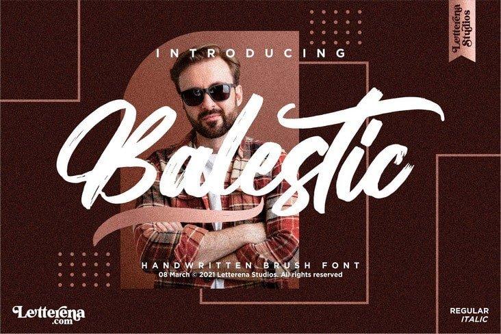 balestic-font