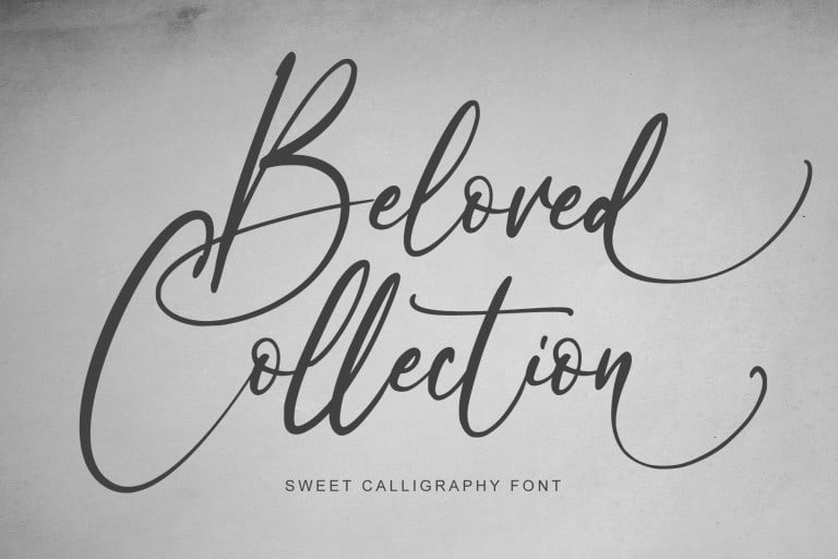 beloved-collection Font