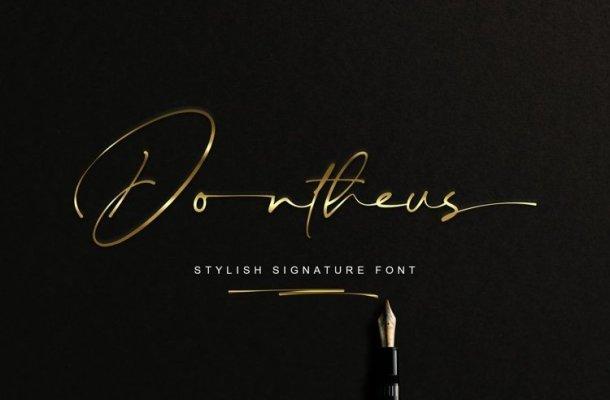 Dontheus Font
