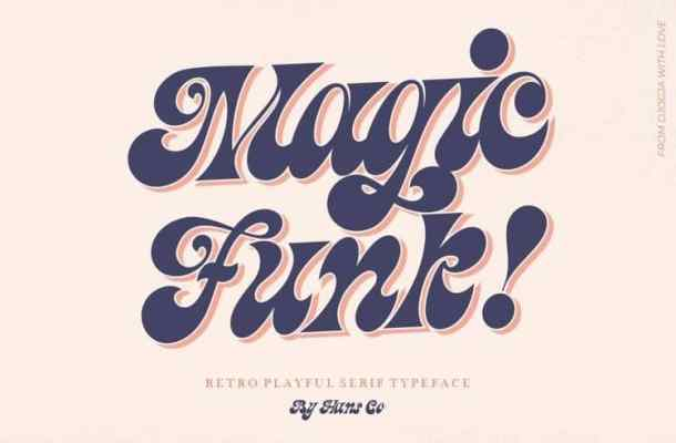 Magic Funk Font
