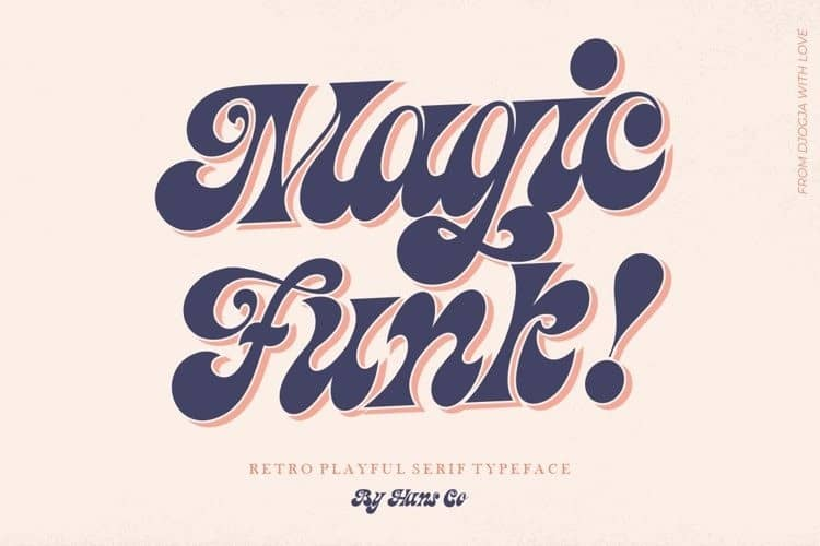 magic-funk Font