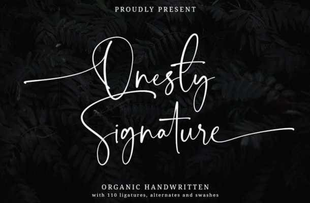 Onesty Font