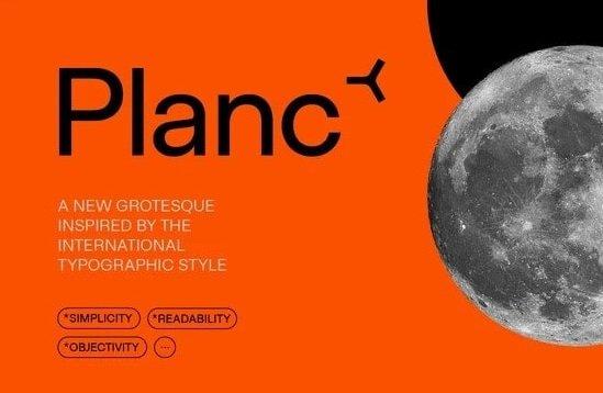 Planc Font
