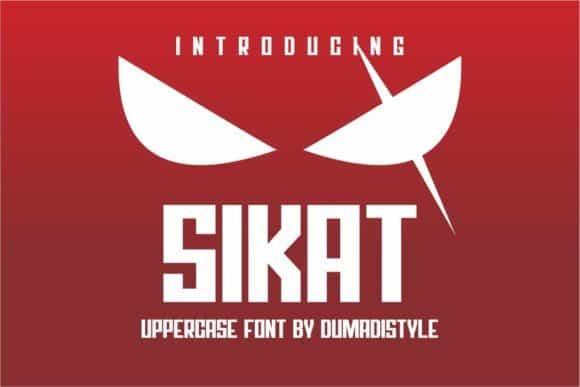 Sikat Font