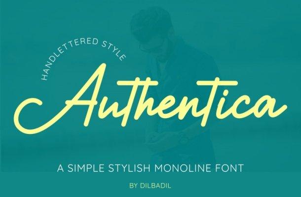 Authentica Font