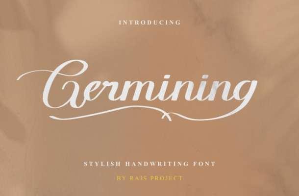 Germining Font