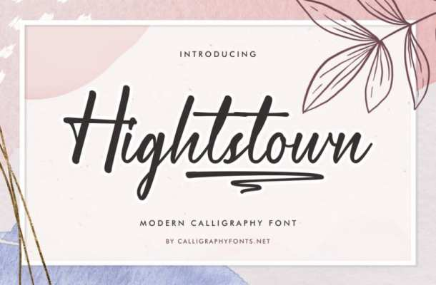Hightstown Font