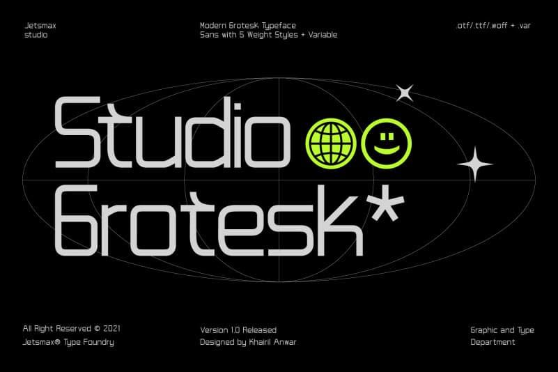 STUDIO-GROTESK-FONT