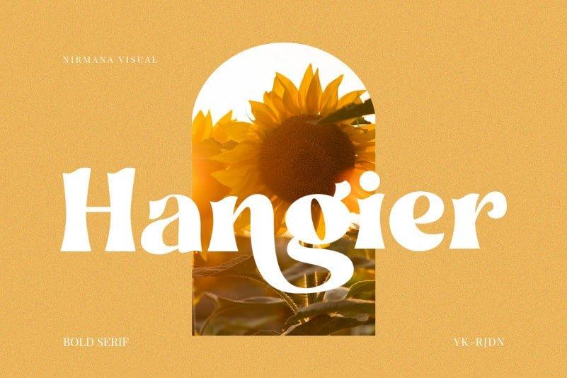 hangier-font