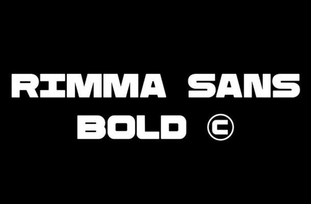 Rimma Bold Font