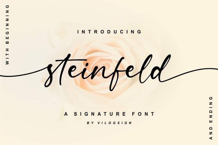 steinfeld-font