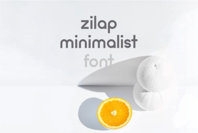 zilap-minimalist-font