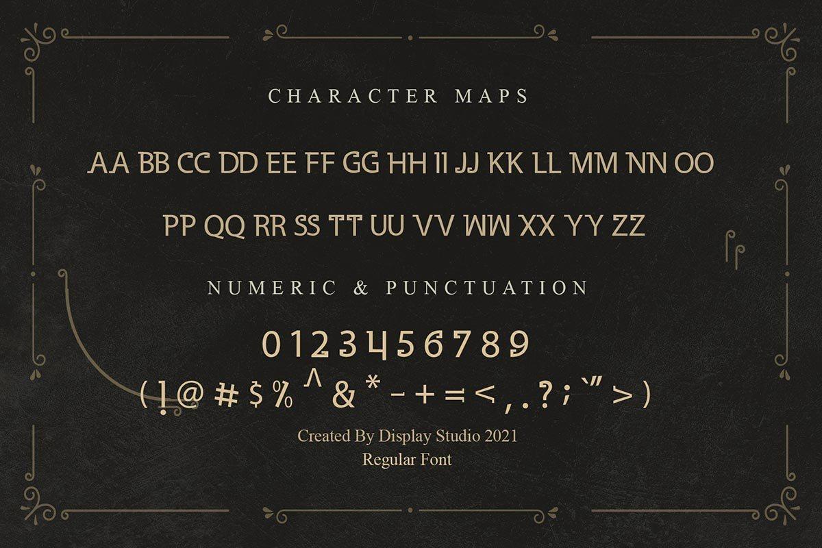 Gladius-Font-3