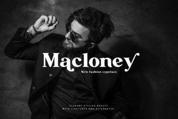 Macloney Font