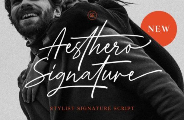 Aesthero Font