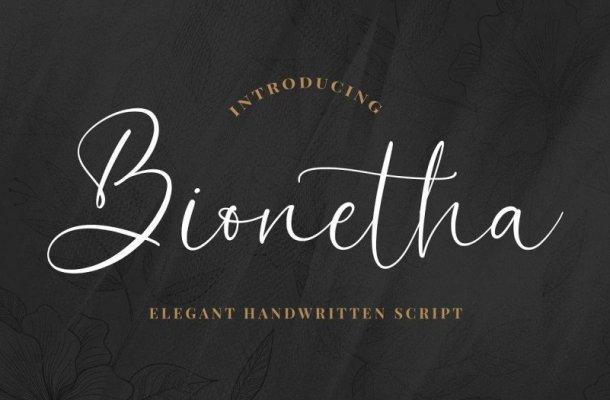 Bionetha Font