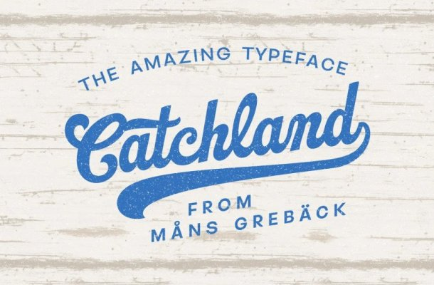 Catchland Font