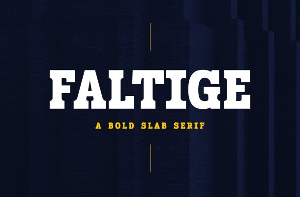 Faltige Font