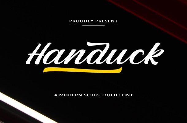 Handuck Font