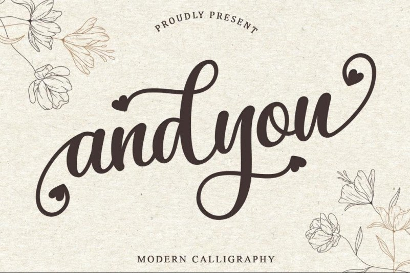 andyou-font