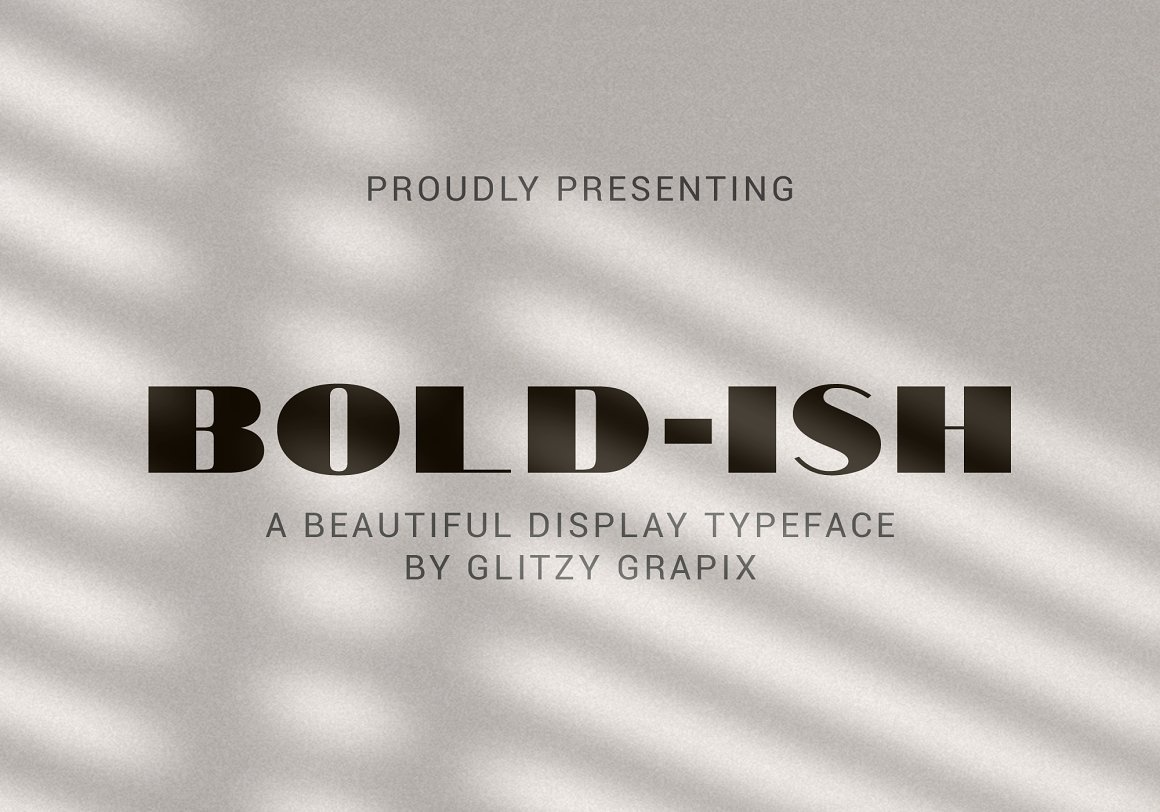 bold-ish-font-