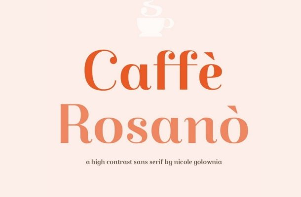 Caffè Rosanò Font